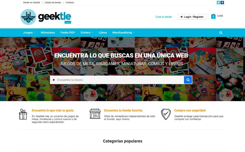 Web geektle.com de Lucena