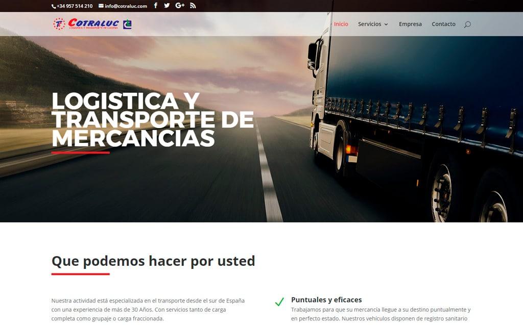 Diseño pagina web cotraluc.com de Lucena